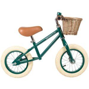 Banwood Løbecykel - First Go! - Mørkegrøn