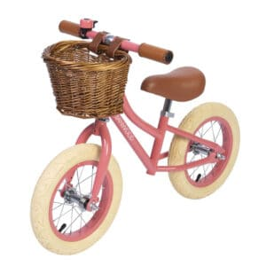 Banwood løbecykel, First Go - coral