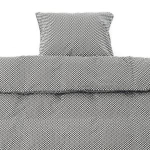 Black square JUNIOR sengetøj fra Smallstuff