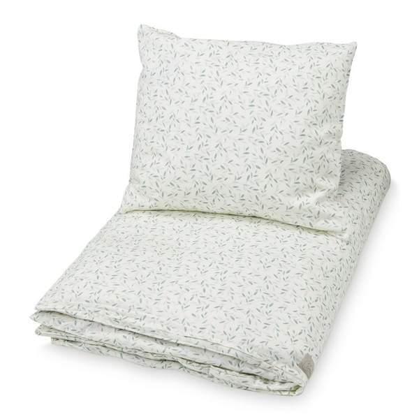 Cam Cam Copenhagen Økologisk baby sengetøj 70x100 - Green Leaves