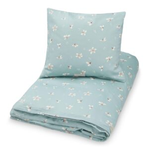 Cam Cam Copenhagen Økologisk junior sengetøj 100x140 - Windflower Blue
