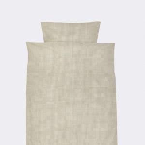 Ferm Living Junior sengetøj Grey Cross