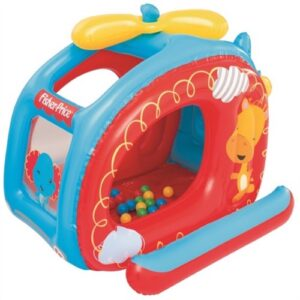 Fisher Price Helikopter Boldebad Med Bolde