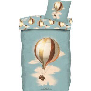 H.C. Andersen Sengetøj - Luftballon - Junior - At Rejse Er At Le