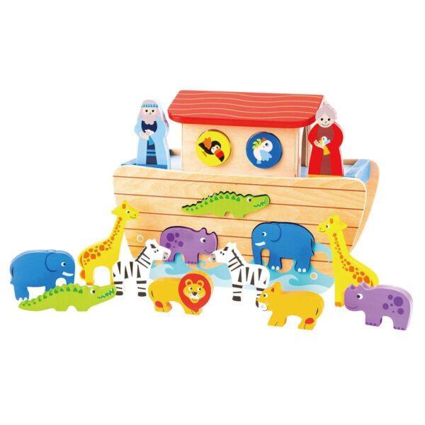 Kid'oh Trælegetøj Noah's Ark