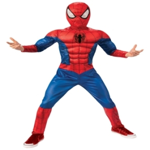 Marvel Spiderman Deluxe Kostume (128/L)