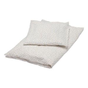 Offwhite junior sengetøj fra Popirol Smukt cremefarvet bed linen Junior sengetøj fra danske Popirol med det fineste print. Sengetøjet er super blødt og er fremstillet i 100% jersey. Sættet består af både et flot og lækkert dyne- og pudebetræk. Både dyne