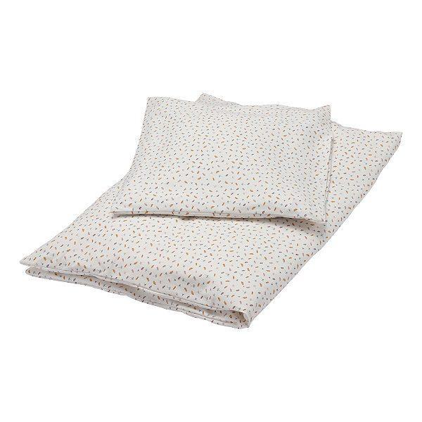 Offwhitebabysengetøj fra Popirol Smuktcremefarvet bed linen baby sengetøj fra danske Popirol med det fineste print. Sengetøjet er super blødt og er fremstillet i 100% jersey. Sættet består af både et flot og lækkert dyne- og pudebetræk. Både dynen