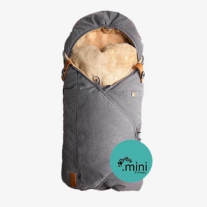 Sleepbag.mini kørepose til kombivognen - denim