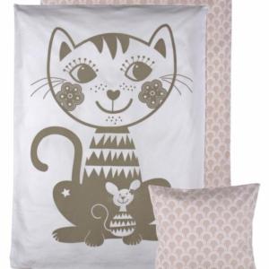 Soulmate Cat JUNIOR sengetøj fra Roommate. Svenske mål