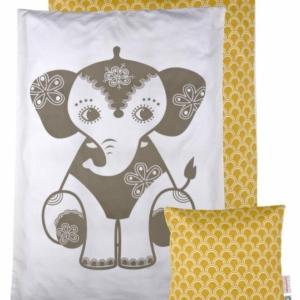 Soulmate Elephant JUNIOR sengetøj fra Roommate. Svenske mål
