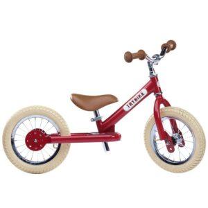 TryBike Løbecykel - Steel - Rød