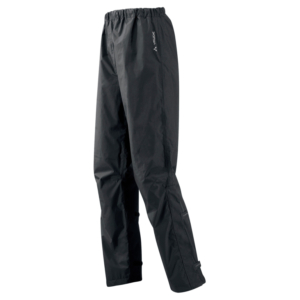 Vaude Fluid - Regnbukser - Sort - Str. 3XL