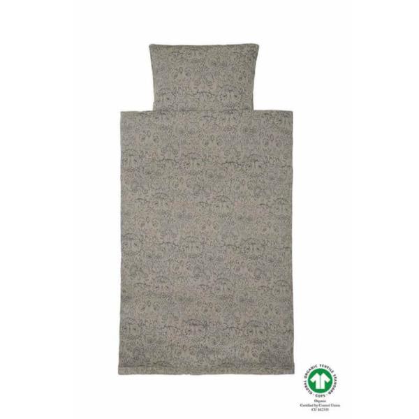 Vetiver AOP Owl junior sengetøj fra Soft Gallery Smart gråt junior sengetøj fra danske Soft Gallery med super flot ugleprint i grøn. Sengetøjet er super blødt og består af både et flot og lækkert dyne- og pudebetræk. Dynen har en knappelukning i bunden,