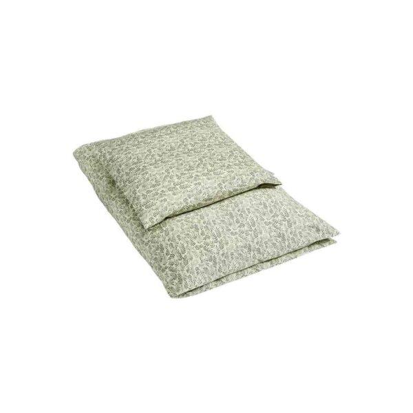 by KlipKlap Baby sengetøj 70x100 - Laurel leaf green
