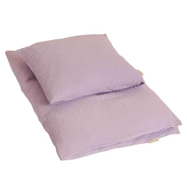 by KlipKlap Baby sengetøj 70x100 - Lilac