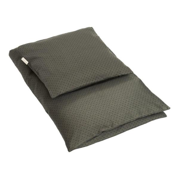 by KlipKlap Junior sengetøj 100x140 - Indian Diamonds green