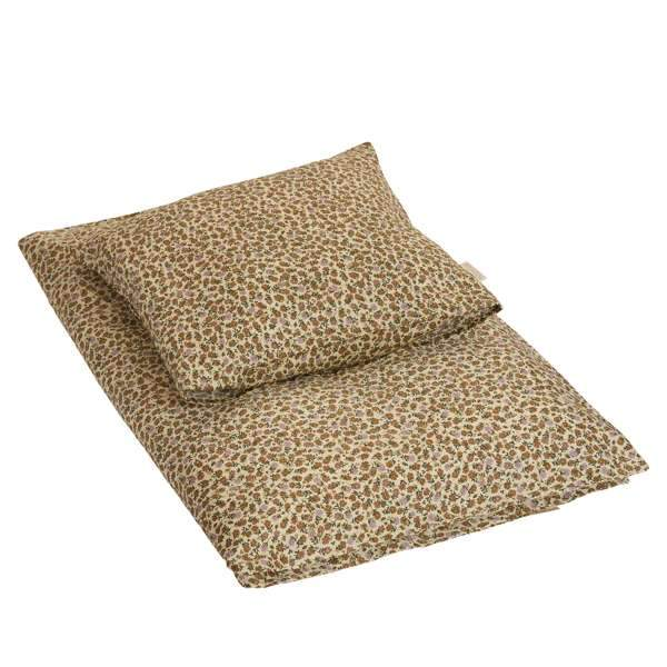by KlipKlap Junior sengetøj 100x140 - Wild Flower - Lilac