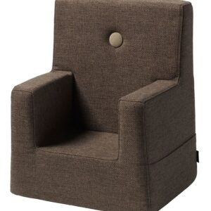 by KlipKlap Lænestol - Kids Chair - Brown/Sand