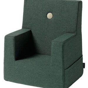 by KlipKlap Lænestol - Kids Chair - Deep Green/Light Green