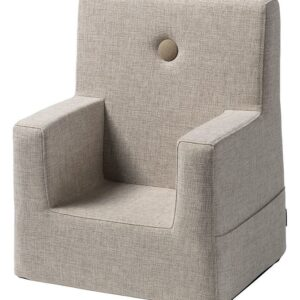by KlipKlap Lænestol - Kids Chair XL - Beige m. Sand