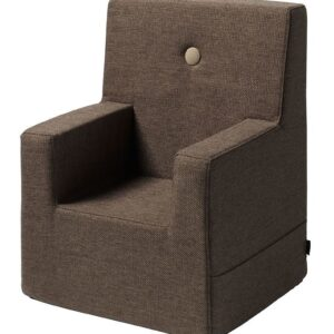 by KlipKlap Lænestol - Kids Chair XL - Brown/Sand