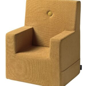 by KlipKlap Lænestol - Kids Chair XL - Mustard/Mustard