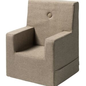 by KlipKlap Lænestol - Kids Chair XL - Sand/Sand